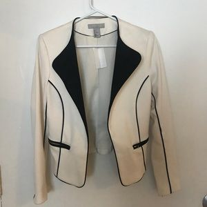 H&M off white blazer